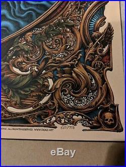 Grateful Dead N. C. Winters Art Print 2018 numbered