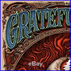 Grateful Dead NC Winters Matching number set of 2 posters Foil variant of ##/150