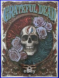 Grateful Dead NC Winters Poster Print AE Foil Edition S/N /50
