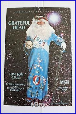 Grateful Dead New Year's BG Poster from 1988 Show ORIGINAL