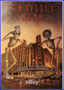 Grateful Dead New York City Poster 24 X 34