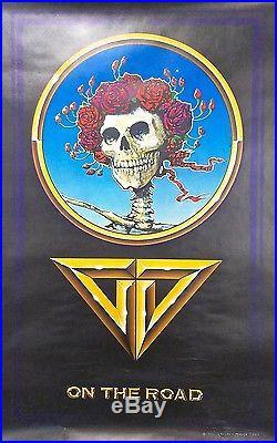Grateful Dead On the Road (1978) Original Printers Proof Concert Tour Poster