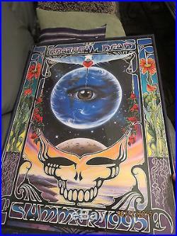 Grateful Dead Original 1995 Final Tour Poster Framed POSTER ONLY