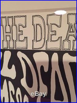 Grateful Dead Original Family Dog FD-12 Concert Poster