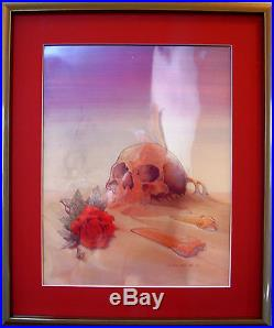 Grateful Dead Original Production Cels for Europe 1981 Poster by Stanley Mouse