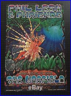 Grateful Dead Phil Lesh & Friends PHISH poster 1999 Michael