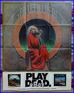 Grateful Dead Play Dead Blues for Allah Promo Poster