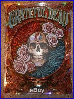Grateful Dead Poster 2018 A/P XX/50 NC Winters Wave Foil Lava Company