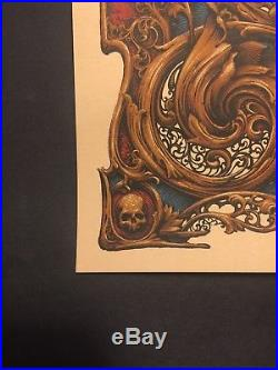 Grateful Dead Poster 2018 N. C. Winters / Dead & and Company print #/750 Mint