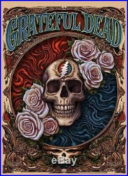Grateful Dead Poster 2018 N. C. Winters numbered Dead & and Company print #/750