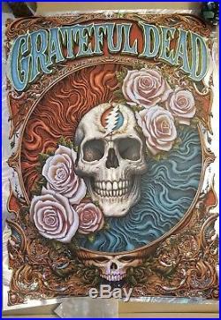 Grateful Dead Poster 2018 by NC Winters Wave Foil Lava Company Long Strange Trip