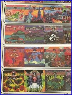 Grateful Dead Poster Dave's Picks Vol. 1-36 Limited Edition Print S/N 069/100