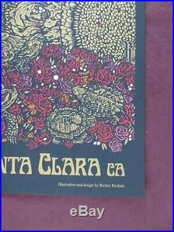 Grateful Dead Poster Fare Thee Well Richey Beckett Santa Clara CA