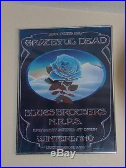 Grateful Dead Poster / Print. Winterland Tour. San Francisco