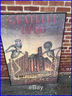 Grateful Dead Poster Rare and very large