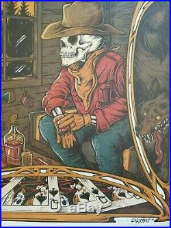Grateful Dead Poster Workingman's Dead 1970 Dire Wolf Kennedy Martin 2020 #50 AP
