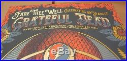 Grateful Dead Posterfare Thee Welljustin Heltonchicago, Il7/3-5/2015s&nse