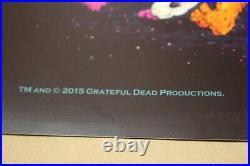 Grateful Dead Posterfare Thee Wellmarq Spustachicago, Il7/3-5/2015gd 50se