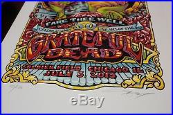 Grateful Dead Postersfare Thee Wellmasthaychicago, Iltriptych7/3-5/2015s&n