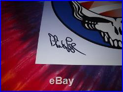 Grateful Dead President Barack Obama Phil Lesh Bob Weir Signed'08 Concert Poster