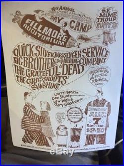 Grateful Dead Quick Messenger Service 1966 Aug 7 Fillmore Auditorium AOR 2.068