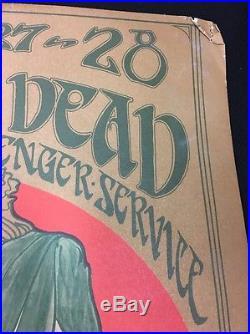 Grateful Dead Quicksilver Avalon Ballroom January 27-28 San Francisco