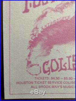 Grateful Dead, Quicksilver, John Mayall, IABD. Houston, 2/22/70. HB NM+