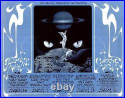 Grateful Dead Quicksilver Satana 1971 SIGNED BG 287 FINAL Fillmore Poster