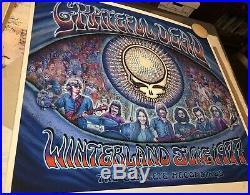 Grateful Dead RARE signed Emek xx/50 Winterland 1977 Jerry Garcia LSD acid