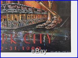 Grateful Dead Radio City Music Hall 1980 First Printing