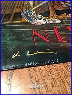 Grateful Dead Radio City Music Hall 1980 First Printing SIGNED POSTER