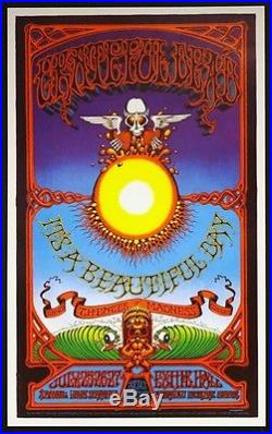 Grateful Dead Rick Griffin Hawaiian Aoxomoxoa AOR Poster