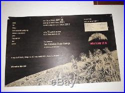 Grateful Dead SF State Cafe ACID TEST Poster RARE 6 Known Original 1st Print