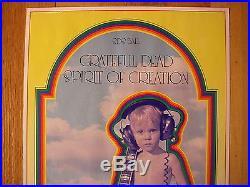 Grateful Dead Salt Lake Poster FD BG AOR