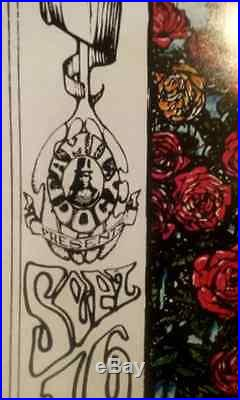 Grateful Dead-San Fran-Oxford Circle-Family Dog- Mouse-Bandweed Press-Concert