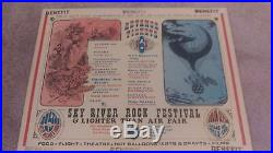 Grateful Dead Santana M Waters S Miller Country S F Mime Troupe Concert Poster