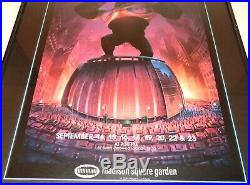 Grateful Dead Sept. 1988 Madison Square Garden MSG King Kong Poster PLEASE READ