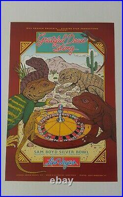 Grateful Dead Sting Las Vegas Vintage Poster from 1993