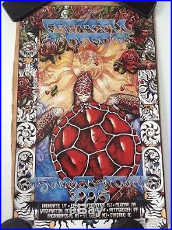 Grateful Dead Summer 1995 Tour Poster. 1st Edition. Numberd Out of 4500