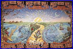 Grateful Dead Sunday 7/5 50th Chicago Poster Fare Thee Well Dubois Print Gd50 3