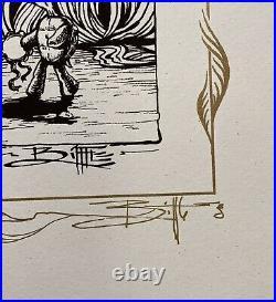 Grateful Dead Terrapin Moon Biffle Art Print Original Screenprint Poster