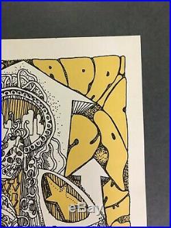 Grateful Dead The Doors Poster AOR 3.46 Jim Salzer 4/20/67 Santa Barbara Cushing