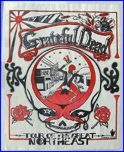 Grateful Dead Tour of the Great Northeast Poster