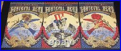 Grateful Dead Trey Anastasio Phish Fare Thee Well VIP 3 Posters Helton Chicago