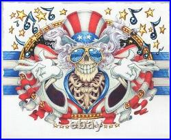 Grateful Dead US Blues AJ Masthay giclee poster Jerry Garcia art #d