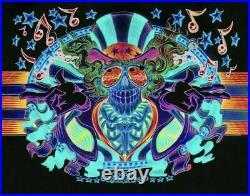 Grateful Dead US Blues Psycho Sam Variant AJ Masthay poster Jerry Garcia S/N
