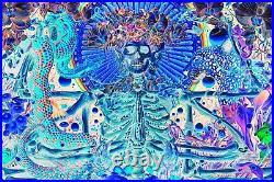 Grateful Dead Variant AJ Masthay poster Jerry Garcia S/N Through The Veil