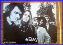 Grateful Dead-Warner Brothers promotional poster 1969 22 x 27-very rare