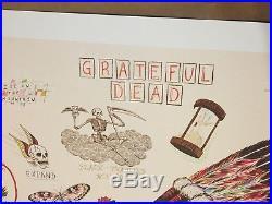 Grateful Dead Wes Lang Warrior Skull Sketch Art Print
