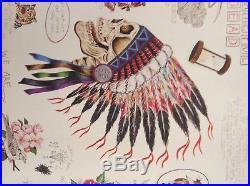 Grateful Dead Wes Lang Warrior Skull Sketch Art Print Limited Edition of 250